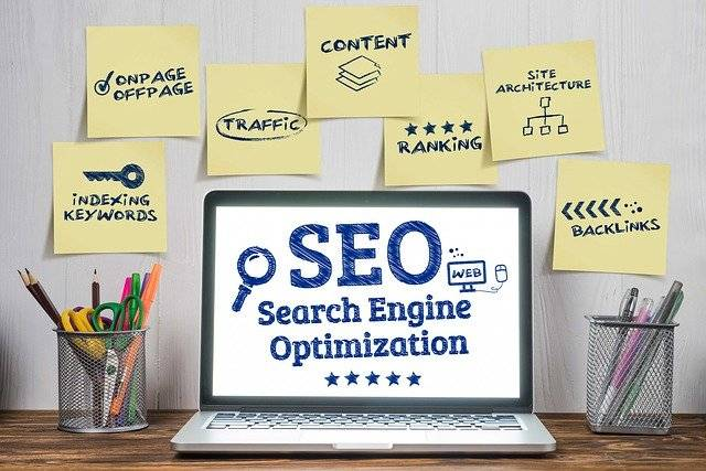 Gratis bezoekers met SEO marketing